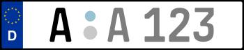 Kennzeichen A