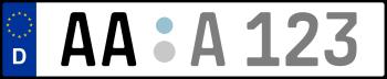 Kennzeichen AA
