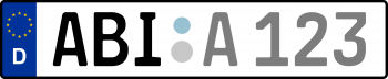 Kennzeichen ABI