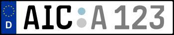 Kennzeichen AIC
