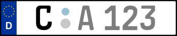 Kennzeichen C