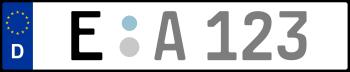 Kennzeichen E