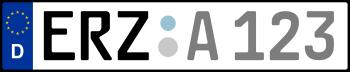 Kennzeichen ERZ