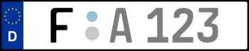 Kennzeichen F