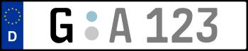 Kennzeichen G