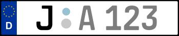Kennzeichen J