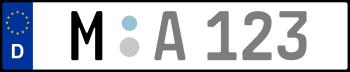 Kennzeichen M