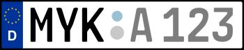 Kennzeichen MYK