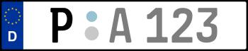 Kennzeichen P
