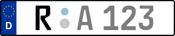 Kennzeichen R
