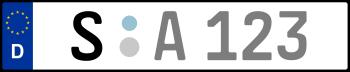 Kennzeichen S