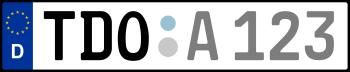 Kennzeichen TDO