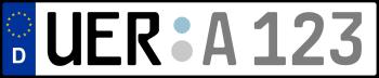 Kennzeichen UER