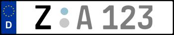 Kennzeichen Z