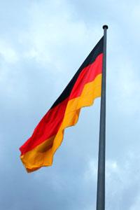 Deutschland Fahne, Bundesl�nder deutscher Orte nachschlagen