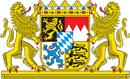 Bayern Wappen: Bundesland Bayern