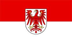 Brandenburg, Flagge des Landes Brandenburg