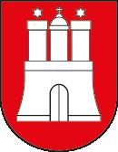 Hamburg Wappen: Bundesland Hamburg