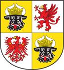 Mecklenburg-Vorpommern Wappen: Bundesland Mecklenburg-Vorpommern