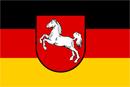 Niedersachsen Wappen: Bundesland Niedersachsen