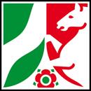 Nordrhein-Westfalen Wappen: Bundesland Nordrhein-Westfalen