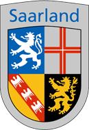 Saarland Wappen: Bundesland Saarland
