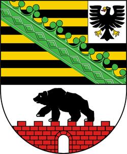 Sachsen-Anhalt, Wappen von Sachsen-Anhalt
