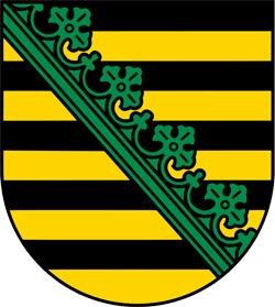 Sachsen, Wappen von Sachsen