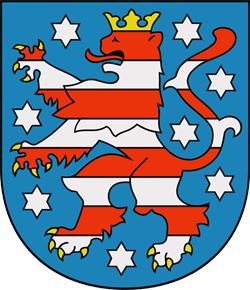 Thüringen, Wappen von Thüringen