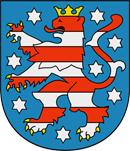 Thüringen Wappen: Bundesland Thüringen