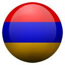 Flagge von Armenien bzw. Armenia