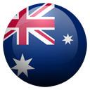 Flagge von Australien bzw. Australia
