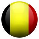 Flagge von Belgien bzw. Belgium