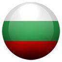 Flagge von Bulgarien bzw. Bulgaria
