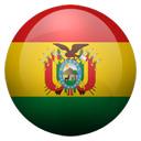 Flagge von Bolivien bzw. Bolivia