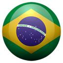 Flagge von Brasilien bzw. Brazil
