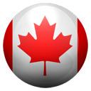 Flagge von Kanada bzw. Canada