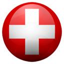 Flagge von Schweiz bzw. Switzerland