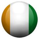 Flagge von Elfenbeinküste bzw. Cote d`Ivoire