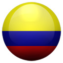 Flagge von Kolumbien bzw. Colombia