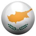 Flagge von Zypern bzw. Cyprus