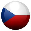 Flagge von Tschechien bzw. Czech Republic, The