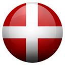 Flagge von D�nemark bzw. Denmark
