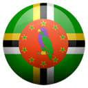 Flagge von Dominica