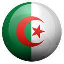 Flagge von Algerien bzw. Algeria