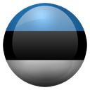 Flagge von Estland bzw. Estonia
