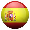 Flagge von Spanien bzw. Spain