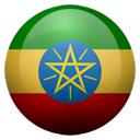 Flagge von Äthiopien bzw. Ethiopia