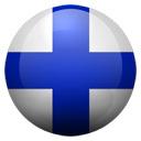 Flagge von Finnland bzw. Finland