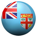 Flagge von Fidschi bzw. Fiji